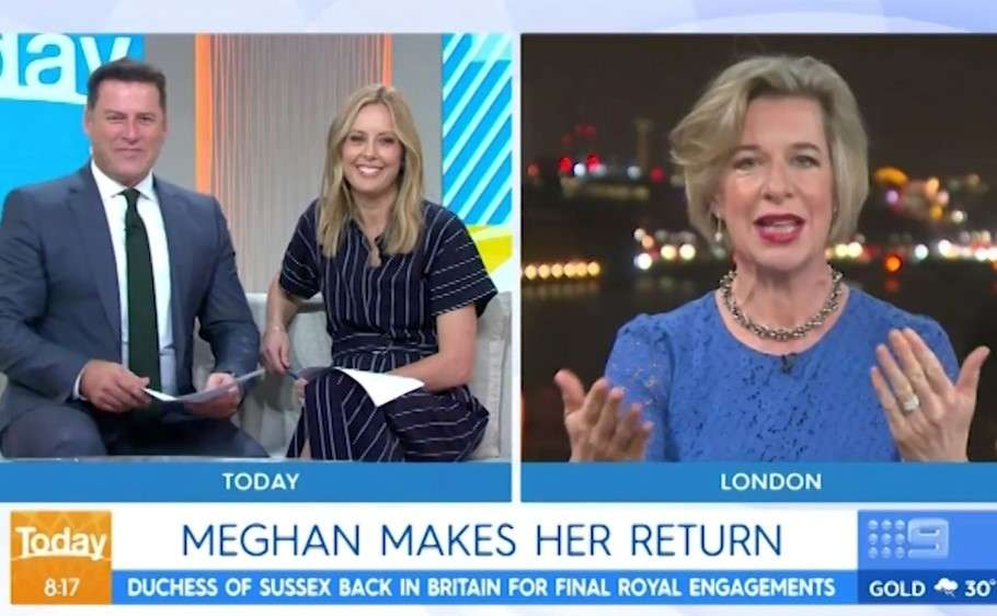 katie hopkins appears on the today show calling meghan markle tramp
