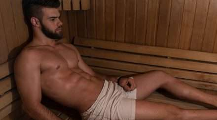 gay sauna sydney 357 coronavirus stock photo