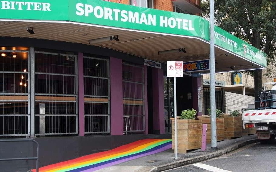 sportsman hotel exterior covid-19 coronavirus closure