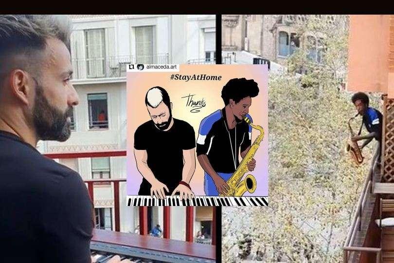 balcony music 21-st century pandemic