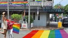 fortitude valley rainbow crossing judi jabour pat condren