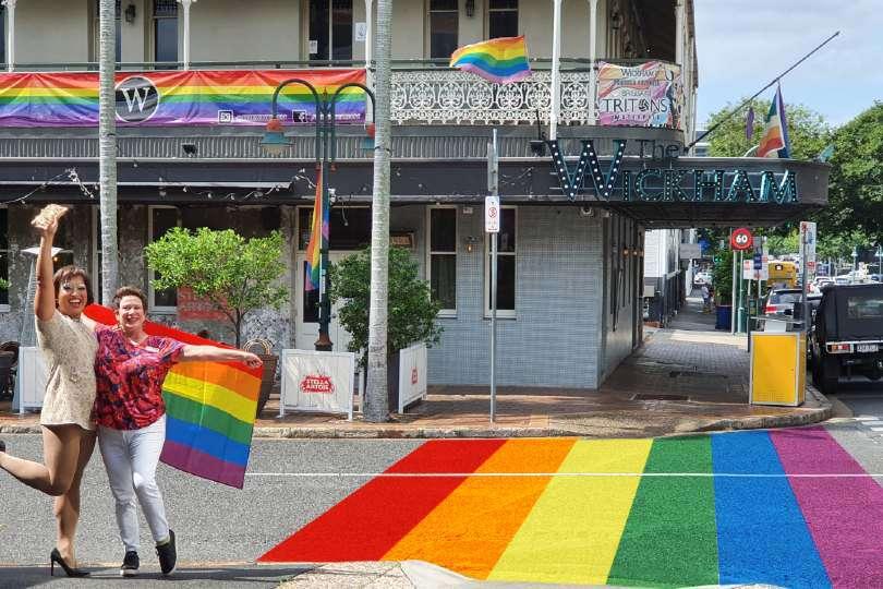 fortitude valley rainbow crossing judi jabour pat condren