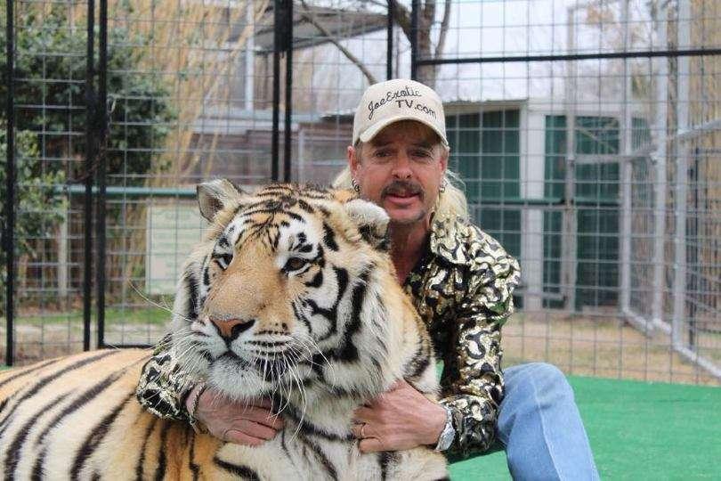 Joe Exotic Tiger king gay mulleted cowboy