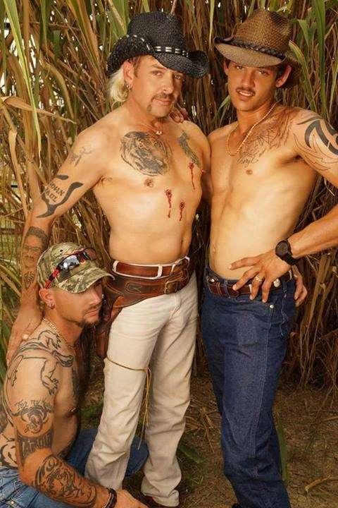 Joe Exotic Tiger King gay mulletted cowboy