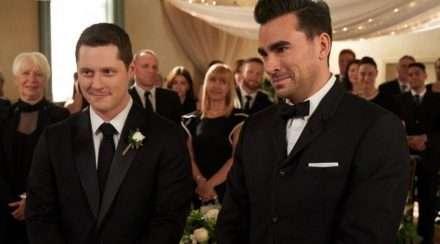 schitt's creek schitts creek david and patrick season 6 episode 14 finale wedding