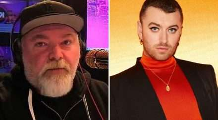 kyle sandilands sam smith non-binary pronouns