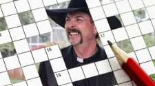 the tiger king lockdown crossword
