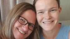 lesbian couple auckland new zealand taryn kat pregnant rainbow families same-sex couple