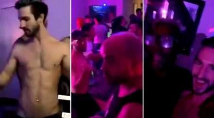 new york gay porn star dance party coronavirus