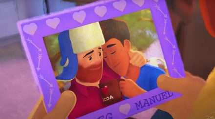 pixar short out gay character disney plus