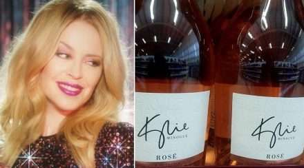 kylie minogue wine