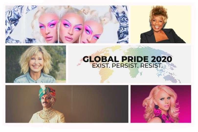 global pride line-up