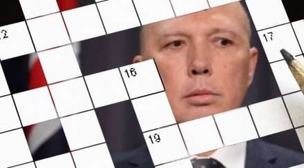 peter dutton crossword