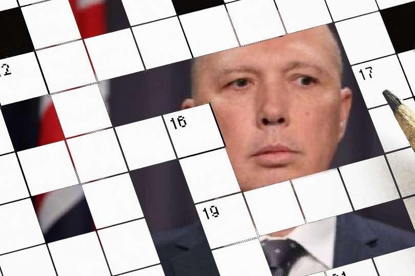 peter dutton crossword