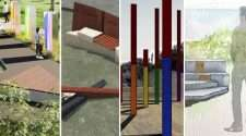 acon waverley council designs gay hate crime memorial bondi marks park tamarama