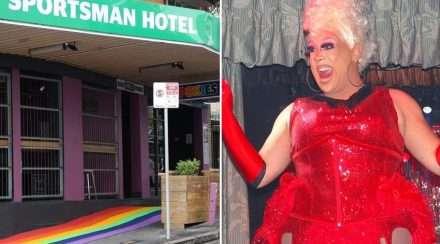 sportsman hotel chocolate boxx drag queen chocolate boxx