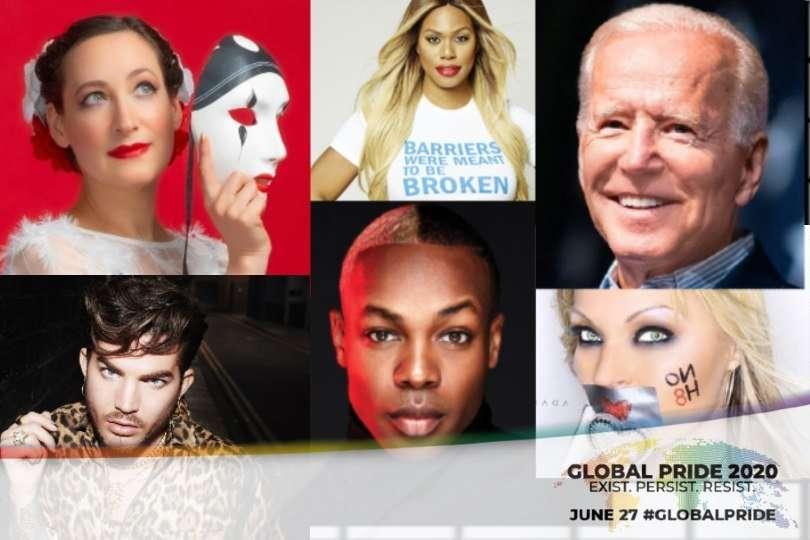 joe biden global pride 2020, todrick hall, #blacklivesmatter