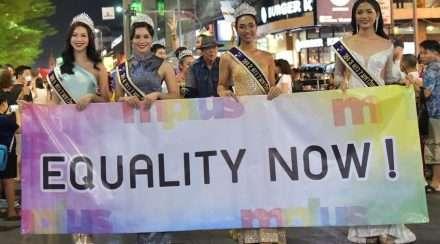 thailand same-sex civil unions chiang mai pride parade equality gay marriage