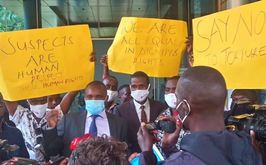 queer uganda sue authorities Human Rights Awareness and Promotion Forum prison torture coronavirus