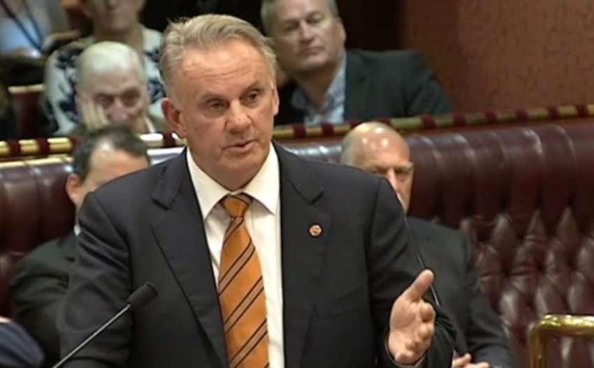 mark latham nsw parliament transgender