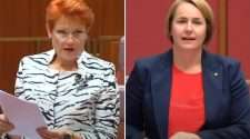 pauline hanson nita green senate transgender rights