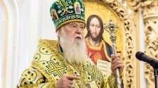 ukraine church leader patriarch filaret same-sex marriage covid-19