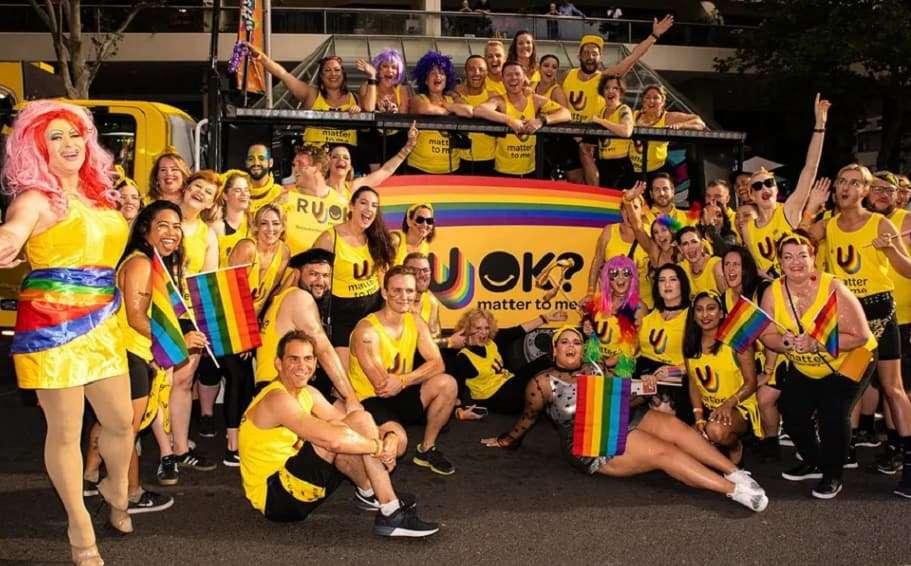 r u ok day sydney gay and lesbian mardi gras