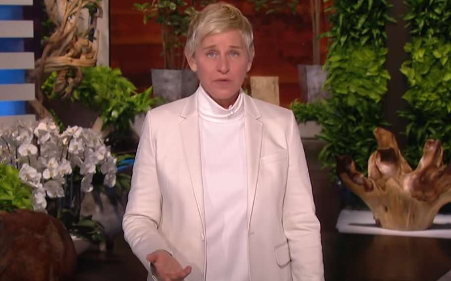 talkshow host ellen degeneres apology opening monologue tested positive for COVID-19