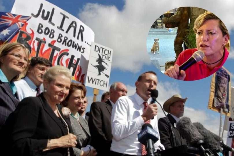 christine forster former PM Tony Abbott homophobe and misogynist