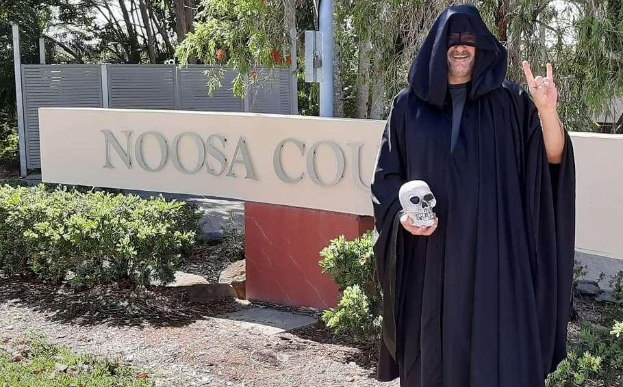 noosa temple of satan black mass noosa council