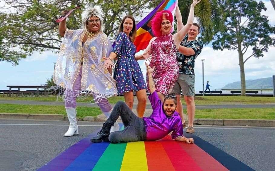 cairns pride festival 2020 rainbow crossing queensland pride events