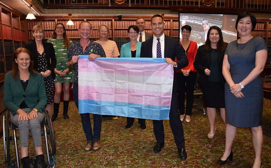 nsw parliament transgender rights trans equality alex greenwich