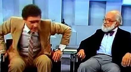James Randi Don Lane Australian TV piss off