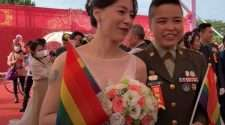 mass military wedding