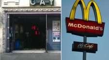 g-a-y nightclub heaven mcdonalds covid-19 restrictions