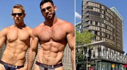 billy santoro gage santoro sydney apartment building evicted onlyfans gay porn star