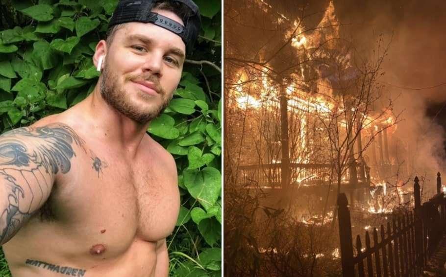 matthew camp arson attack
