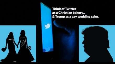 Trump Twitter Ban Lady MAGA