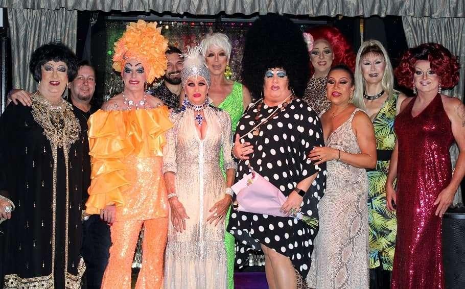 sportsman hotel drag hall of fame 2021 drag queen showgirls queensland brisbane gay lgbt
