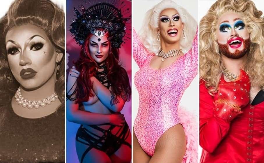 miss sportsman hotel brisbane drag queens drag pageant mya crafone justine deeva lexa pro archie arsenic