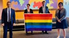 nsw parliamentary friends of the lgbtiq community rainbow flag conversion therapy new south wales parliament