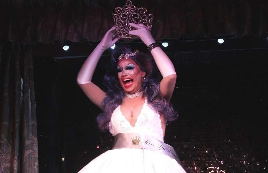 justine deeva miss sportsman hotel drag queen brisbane queensland