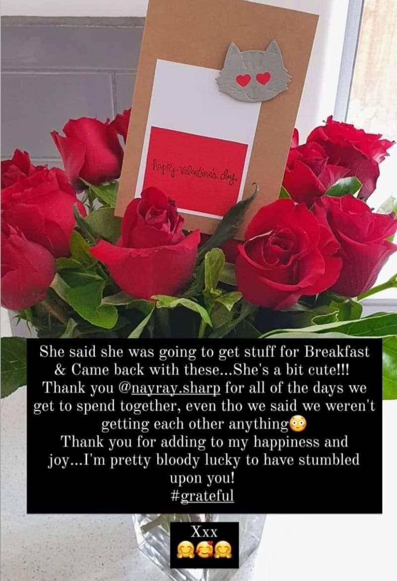 casey donovan valentine's day jade sharp girlfriend partner
