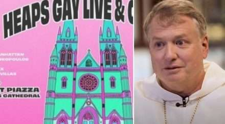 catholic archbishop heaps gay concert