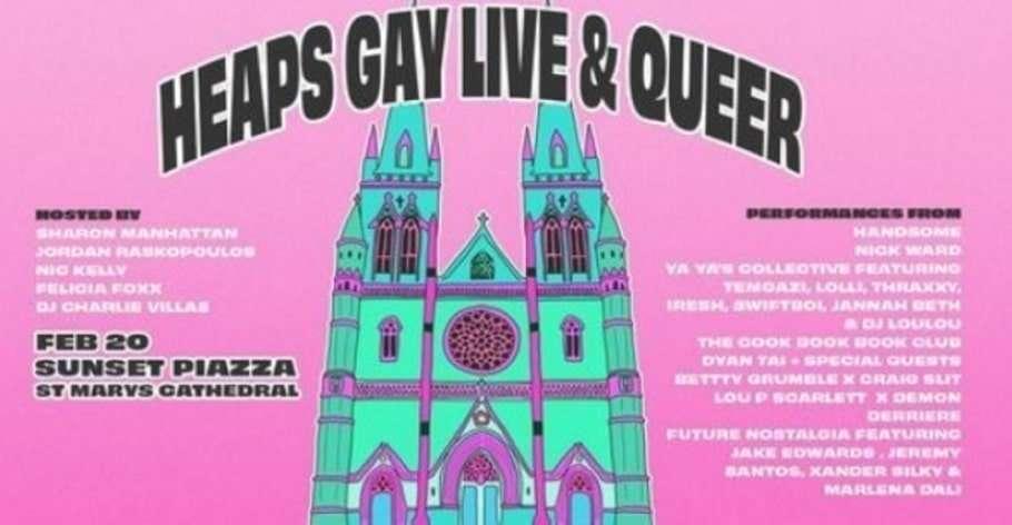 catholic archbishop sydney anthony fisher heaps gay concert city of sydney