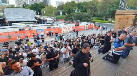 christian lives matter protesters sydney heaps gay concert