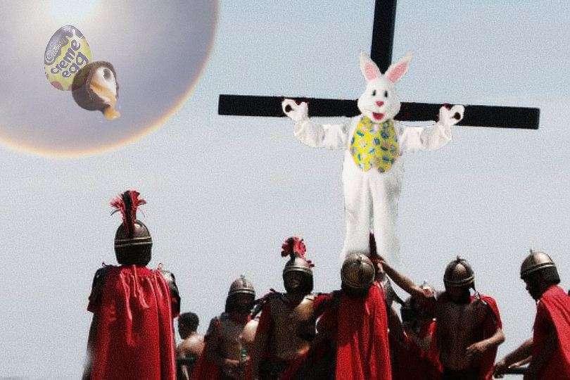 cadbury creme egg gay chocolate kiss bigots feel persecuted