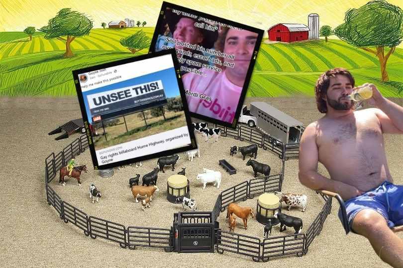 joshua goyne the gay cowboy ssaa