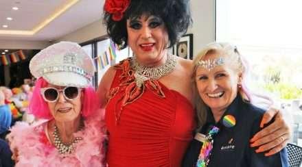 arcare parkwood aged care residence seniors mardi gras party