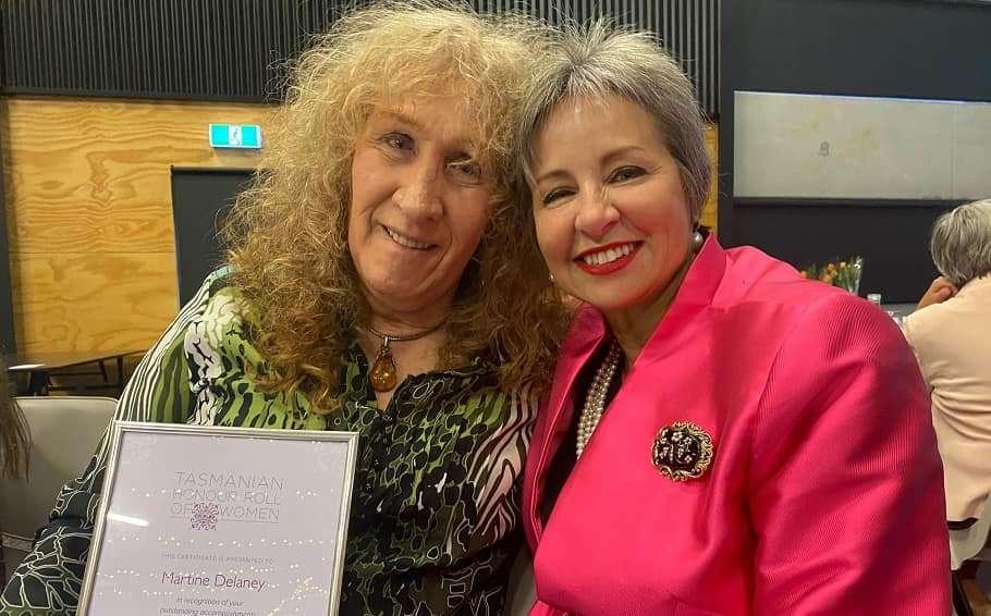 martine delaney transgender tasmania advocate honour roll